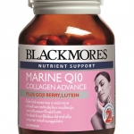 Blackmore Marine Q10 collagen advance 60's รุ่นใหม่