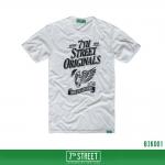 เสื้อยืด 7TH STREET - รุ่น Bike | White