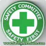 เข็มกลัด Safety Committee - Safety First