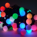 ไฟประดับledลูกใหญ่เรืองแสงสีสลับบรรจุ100/ลัง