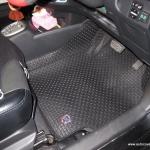พรมกระดุม Original ชุด Full จำนวน 14 ชิ้น Toyota Yaris 2008-2013
