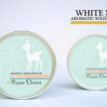 Aromatic Solid Perfume White Musk น้ำหอมแห้ง แพดดี้แดดดี้ กลิ่นไวท์มัสค์ (กลิ่นหอมสูตรพิเศษของ Paddy Daddy)