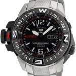 นาฬิกาข้อมือ SEIKO 5 Sports Divers Automatic Map Meter รุ่น SKZ229K1