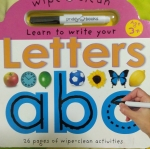 Learn to write your letters abc