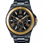 นาฬิกา คาสิโอ Casio STANDARD Analog'men รุ่น MTD-1075BK-1A9V