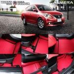 พรมกระดุม Original ชุด Full จำนวน 16 ชิ้น Nissan Almera