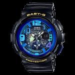 นาฬิกา Casio Baby-G ANALOG-DIGITAL Beach Traveler series รุ่น BGA-190GL-1B ของแท้ รับประกัน1ปี