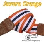 สายคล้องกล้อง Aurora Strap Orange (Pre Order)