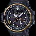 นาฬิกา คาสิโอ Casio G-Shock GULFMASTER 4-sensors GWN-Q1000 series รุ่น GWN-Q1000GB-1A ของแท้ รับประกัน 1 ปี