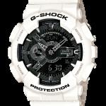 """นาฬิกา คาสิโอ Casio G-Shock Garish White Limited model รุ่น GA-110GW-7A """"METAL GUN"""""""