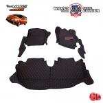 พรมรถยนต์ 6 D Leather Car Mat รถ TOYOTA ALL NEW YARIS ปี 2014-2019 จำนวน 3 ชิ้น