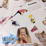 Early Learning Flash Cards - Actions
