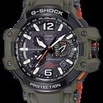 นาฬิกา Casio G-Shock นักบิน GRAVITYMASTER GPS Hybrid Waveceptor Master in OLIVE DRAB series รุ่น GPW-1000KH-3A ของแท้ รับประกัน1ปี