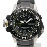 นาฬิกาข้อมือ Seiko 5 Sports Diver 200m Automatic Map Meter SKZ231K1