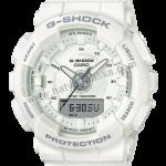 นาฬิกา Casio G-Shock มินิ S-Series GMA-S130 Step Tracker series รุ่น GMA-S130-7A (สีขาว) ของแท้ รับประกัน1ปี