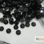 เพชรธรรมดา สีดำ ขนาด 3 มิล