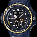 นาฬิกา คาสิโอ Casio G-Shock GULFMASTER 4-sensors Master of G ชุด Master in Navy Blue series รุ่น GWN-Q1000NV-2A (นำเข้า Japan) ของแท้ รับประกัน 1 ปี