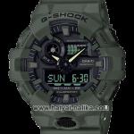 นาฬิกา คาสิโอ Casio G-Shock Special Color GA-700UC Military Utility Color series รุ่น GA-700UC-3A (สี Olive Green) ของแท้ รับประกัน 1 ปี