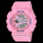 นาฬิกา Casio Baby-G Pink Bouquet serie รุ่น BA-110-4A1 (ชมพูนมพาสเทล) ของแท้ รับประกัน 1 ปี