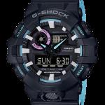 นาฬิกา Casio G-Shock Special Pearl Blue Neon Accent Color series รุ่น GA-700PC-1A ของแท้ รับประกัน1ปี
