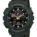นาฬิกา คาสิโอ Casio G-Shock Limited model Military Cloth Series รุ่น GA-100MC-3A