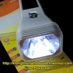 YG3897 LED 1 W ไฟฉายแบบมีแผงโซล่าเซลล์