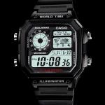 นาฬิกา คาสิโอ Casio 10 YEAR BATTERY รุ่น AE-1200WH-1AV
