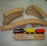 รางรถไฟไม้