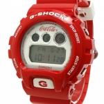 นาฬิกา คาสิโอ CASIO G-SHOCK Limited Edition Rare item รุ่น DW-6900FS A BATHING APE (BAPE) x Coca-Cola หายากมาก