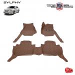 พรมเข้ารูป 6 D Leather Car Mat จำนวน 3 ชิ้น NISSAN SYLPHY