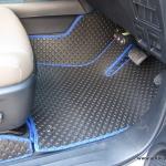 พรมกระดุม Super Save ชุด Full จำนวน 12 ชิ้น Toyota Revo 4 Door 2015 - 2019 เกียร์ Auto