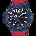 """นาฬิกา คาสิโอ Casio G-SHOCK นักบิน GRAVITYMASTER รุ่น GA-1100-2A """"Optimus Prime"""""""