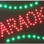 ป้ายไฟ LED KARAOKE 48x25 cm เกรด A++