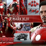 Hot Toys QS005 Iron Man Mark 43 XLIII 1/4 Scale Avengers2 NEW
