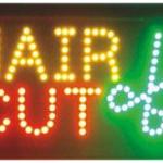 ป้ายไฟ LED HAIR CUT คุณภาพเกรด A