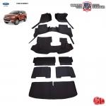 พรมรถยนต์ 6D Leather Car Mat จำนวน 9 ชิ้น FORD ALL NEW EVEREST 2015-2020