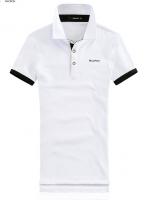 Macfion เสื้อโปโล แขนสั้น ปกเชิ๊ต สีขาว
