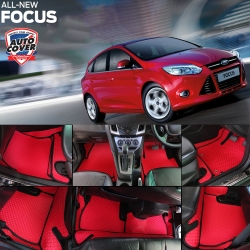 พรมกระดุม Super Save รถ Ford Focus ปี 2013-2018 ชุด Full จำนวน 15 ชิ้น