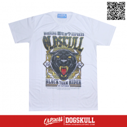 เสื้อยืด OLDSKULL : EXPRESS BLACK PANTHER | WHITE