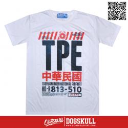 เสื้อยืด OLDSKULL EXPRESS TICKET TO TPE | WHITE