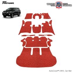พรมดักฝุ่นไวนิล รถ Toyota All New Fortuner ปี 2015-2019 เกียร์ AUTO ชุด All Full จำนวน 14 ชิ้น
