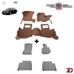 พรมรถยนต์ 7 D Anti Dust รถ MERCEDES - BENZ E CLASS (W211) จำนวน 3+4 ชิ้น