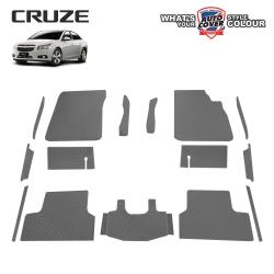 พรมกระดุม Super Save รถ Chevrolet Cruze ปี 2010-2016 ชุด Full จำนวน 15 ชิ้น