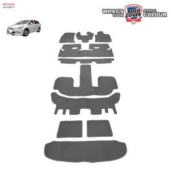 พรมกระดุม Super Save รถ Toyota Wish 2003-2010 ชุด All FULL จำนวน 10 ชิ้น (รวมแผ่นท้าย)