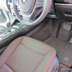 พรมดักฝุ่นไวนิล ชุด All Full จำนวน 8 ชิ้น BMW X3 F25