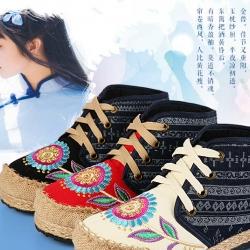 รองเท้าลายปักจีน 315