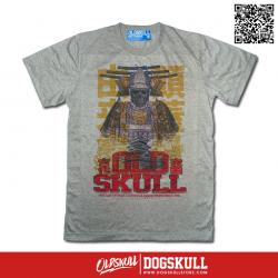 เสื้อยืด OLDSKULL EXPRESS: SAMULAI GHOST | GREY