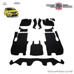 พรมกระดุม Super Save รถ Honda All New Jazz (GK) 2014-2019 ชุด Full จำนวน 11 ชิ้น