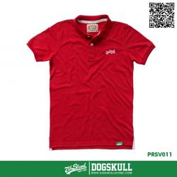 เสื้อโปโล - POLO Shirt รุ่น 7th Street | Red