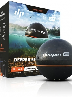 โซน่าจิ๋วอัจฉริยะช่วยหาปลา Deeper Smart Sonar Pro+ รุ่นใหม่ล่าสุด [Pre-order USA]